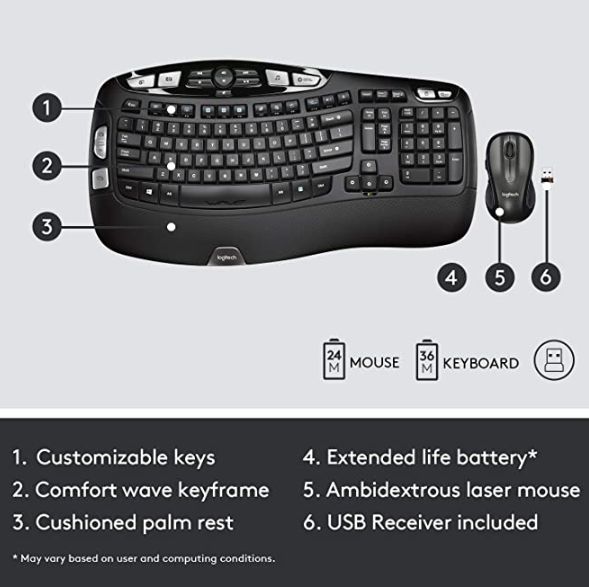 Bluetooth Mouse and Keyboard for home Office