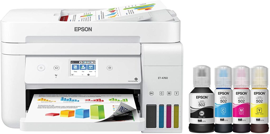 Epson tank printer Best Compact Wifi Printer