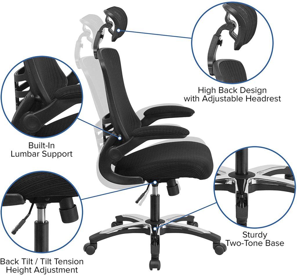 16 Best Ergonomic Desk Chair for Home Office Setup 8