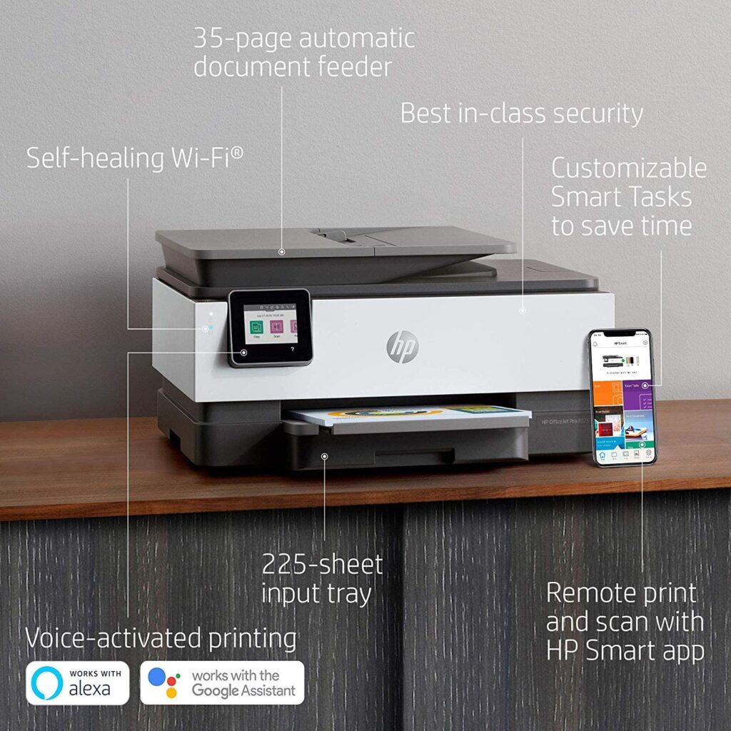 HP Officejet Pro 8025 Best Compact Wireless Printer
