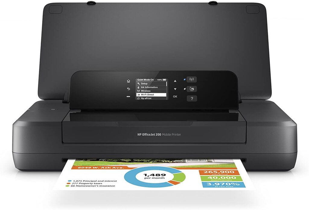 HP Office Jet 200 Best Compact Wireless Printer