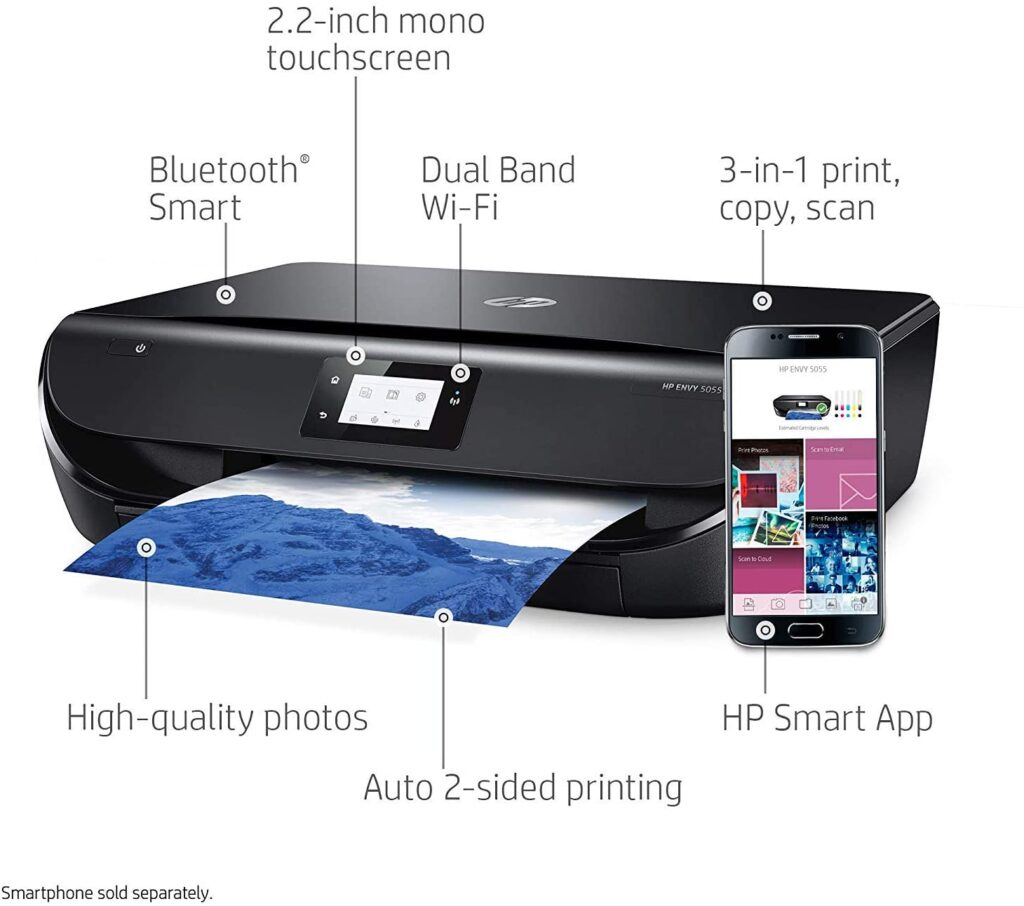 HP Envy 5055 Best Compact Wireless Printer