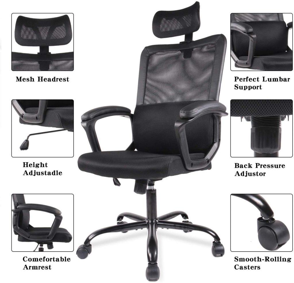 Smugdesk Ergonomic desk Chair