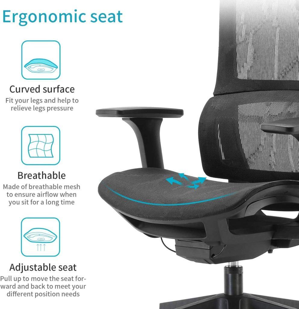 16 Best Ergonomic Desk Chair for Home Office Setup 11
