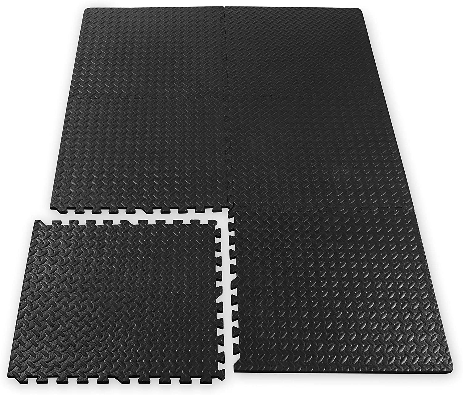 Gaiam Exercise Mats Interlocking