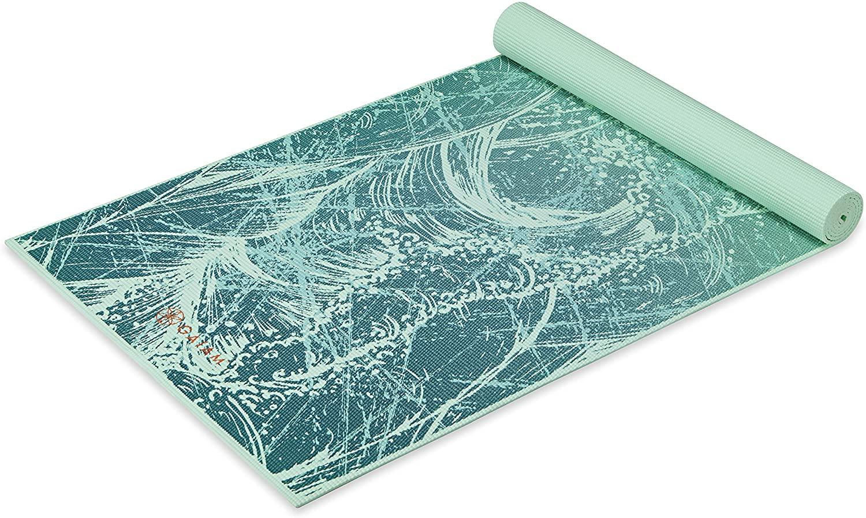 Gaiam Classic Print Yoga mat