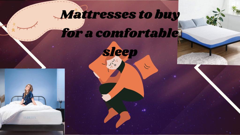 Best Mattress to buy for Comfortable Sleep 2